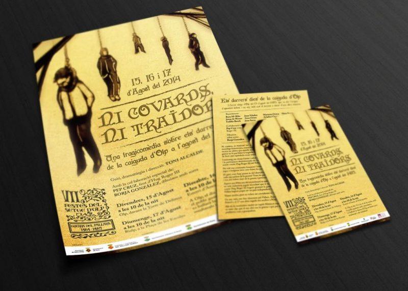 """mockup cartel 1024x731 800x571 - Séptima edición de la """"Festa del Setge D'Olp"""""""