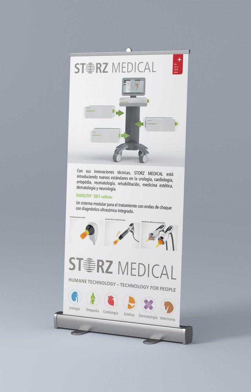 Mockup Rollup side 100x200 800x1250 - Storz Medical, tecnología médica.