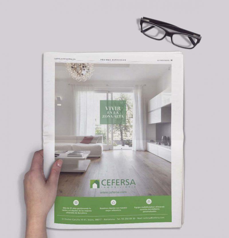 prensa cefersa 800x831 - Cefersa Inmobiliaria